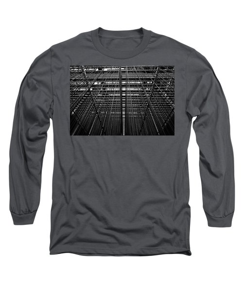 Metal Lines Long Sleeve T-Shirt