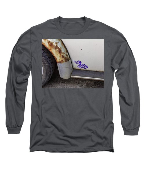 Metal Moth Long Sleeve T-Shirt