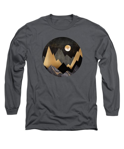 Metallic Night Long Sleeve T-Shirt