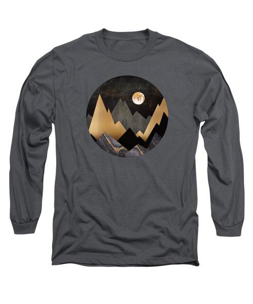 Metallic Night Long Sleeve T-Shirt
