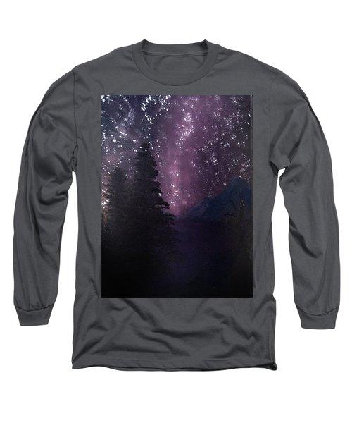 Milky Way Lake Long Sleeve T-Shirt