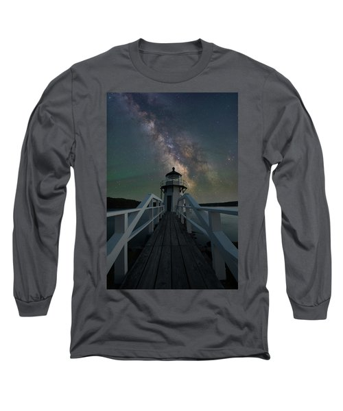 Milky Way Over Doubling Point Long Sleeve T-Shirt