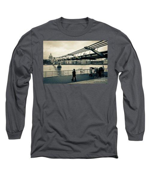 Millennium Bridge 03 Long Sleeve T-Shirt