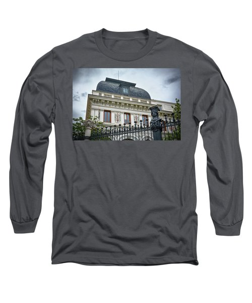 Ministry Of Agriculture Building Of Madrid Long Sleeve T-Shirt