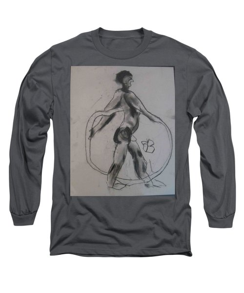 model named Guy Long Sleeve T-Shirt