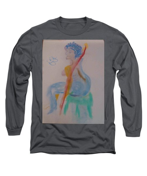 model named Helene two Long Sleeve T-Shirt