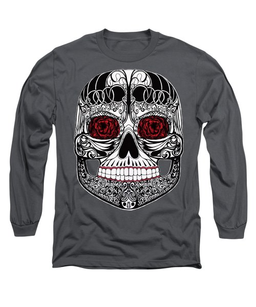 Monika's Sugar Skull Long Sleeve T-Shirt