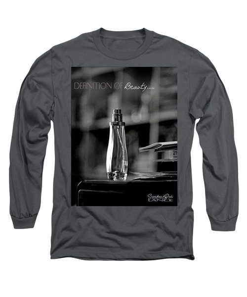 Monochrome Definition Of Beauty Long Sleeve T-Shirt