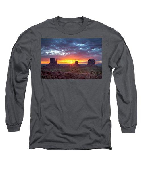 Monumental Morning  Long Sleeve T-Shirt