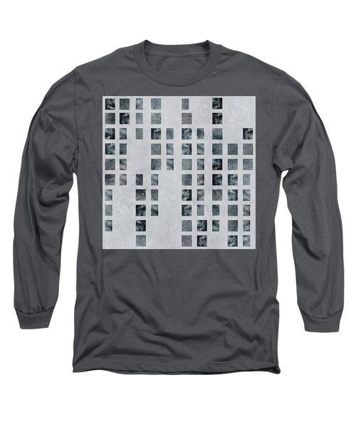 Moody Blues Data Pattern Long Sleeve T-Shirt
