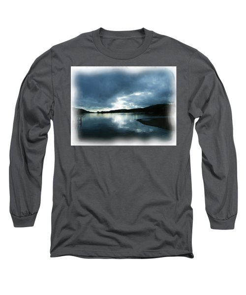 Moody Sky Painting Long Sleeve T-Shirt