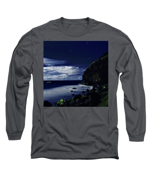 Moonlight At Argyle Long Sleeve T-Shirt