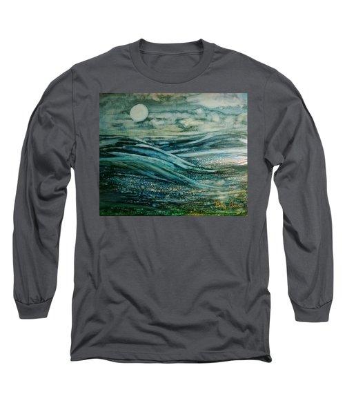 Moonlit Storm Long Sleeve T-Shirt