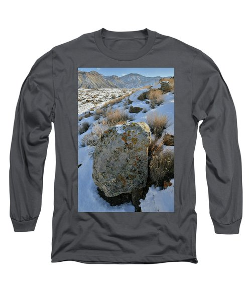 Morning At The Book Cliffs Long Sleeve T-Shirt