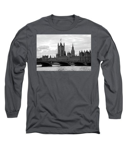 Morning At Westminster - Classic Edition Long Sleeve T-Shirt