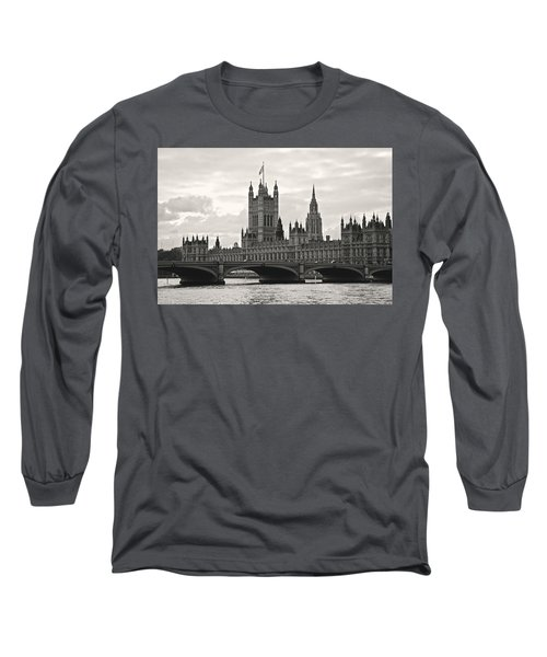 Morning At Westminster - Historic Edition Long Sleeve T-Shirt