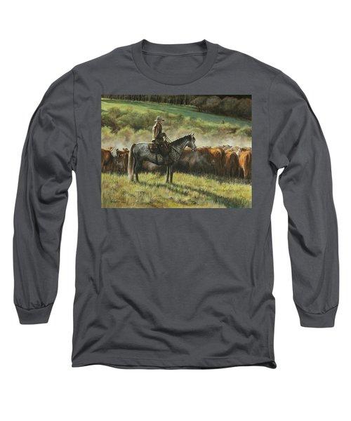 Morning In The Highwoods Long Sleeve T-Shirt