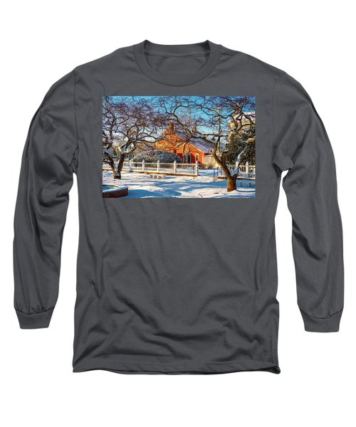 Morning Light, Winter Garden. Long Sleeve T-Shirt