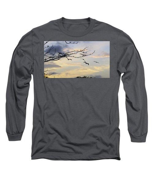 Morning Sky View Long Sleeve T-Shirt