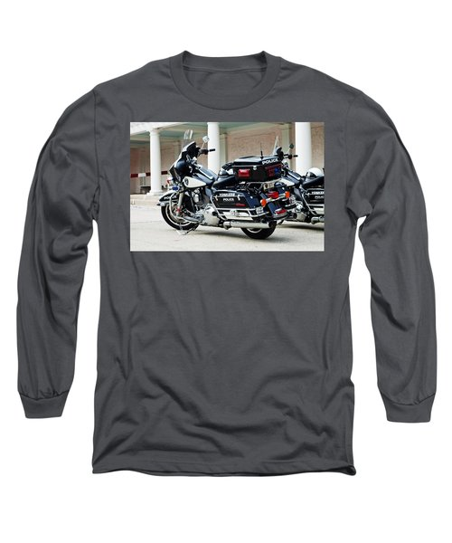 Motorcycle Cruiser Long Sleeve T-Shirt