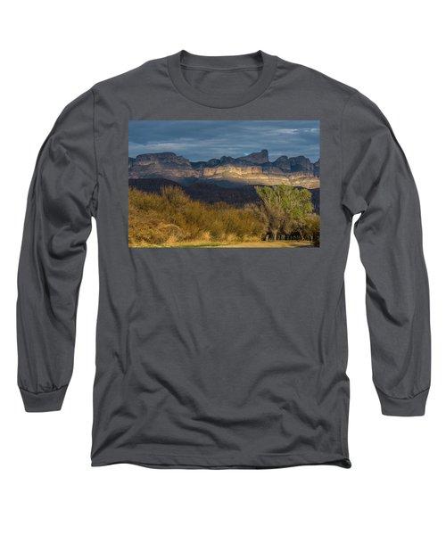 Mountain Illumination Long Sleeve T-Shirt