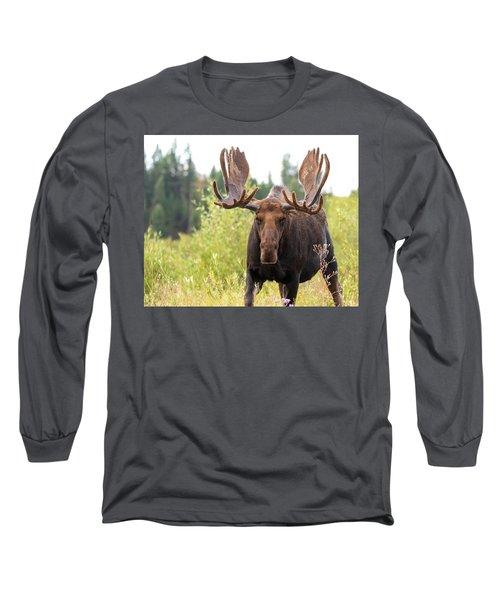 Mr. Moose Long Sleeve T-Shirt