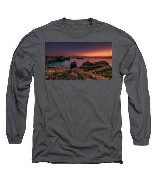 Mullion Cove - Sunset 2 Long Sleeve T-Shirt