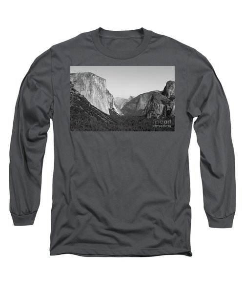 Nature At Its Best - Black-white Long Sleeve T-Shirt