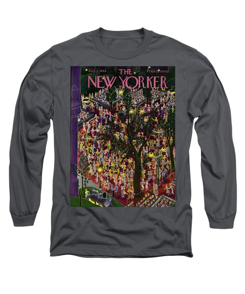 New Yorker August 7th 1943 Long Sleeve T-Shirt
