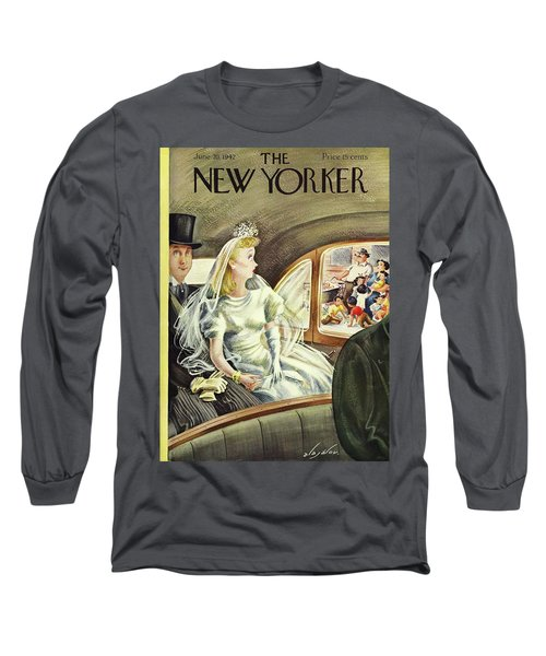 New Yorker June 20th 1942 Long Sleeve T-Shirt