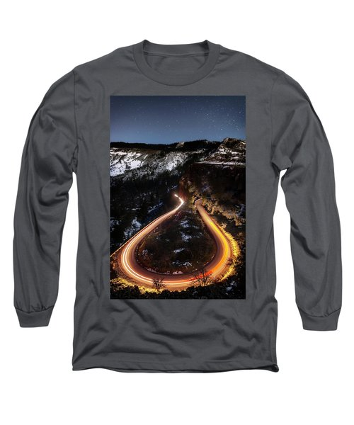 Night At Rowena Crest Long Sleeve T-Shirt