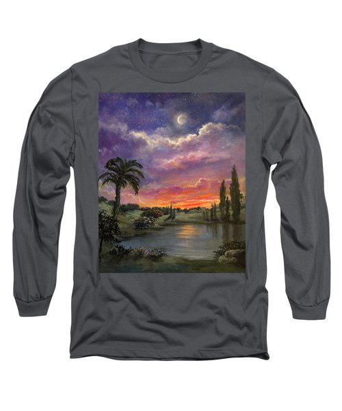 Night By Light Of Day Long Sleeve T-Shirt
