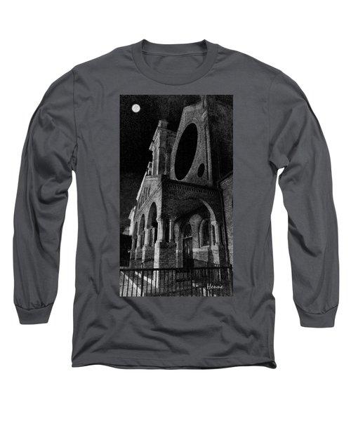 Night Church Long Sleeve T-Shirt