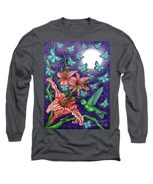 Night Garden 5 Long Sleeve T-Shirt