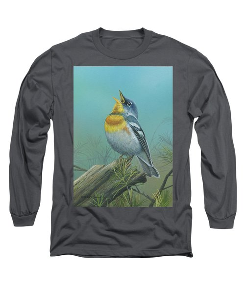 Northern Parula  Long Sleeve T-Shirt