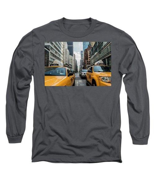 Ny Taxis Long Sleeve T-Shirt