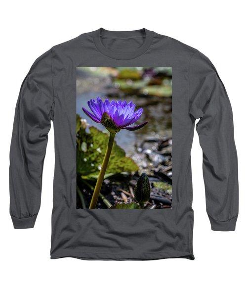 Nymphaea Nouchali Long Sleeve T-Shirt