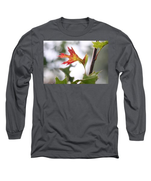 Oak Leaf Turning Long Sleeve T-Shirt