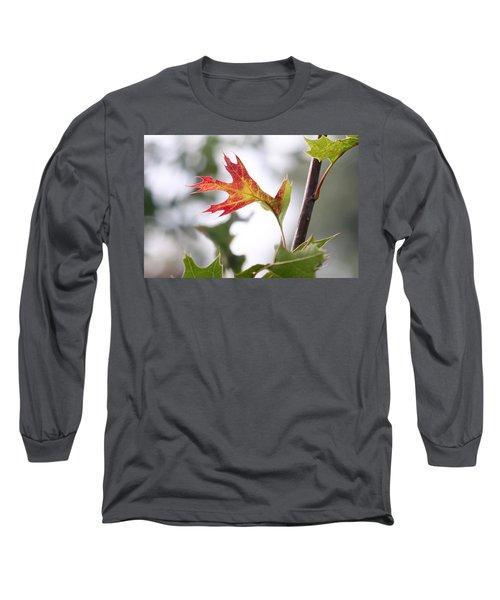 Oak Leaf Turning Long Sleeve T-Shirt