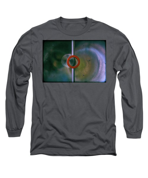 Off Center Long Sleeve T-Shirt