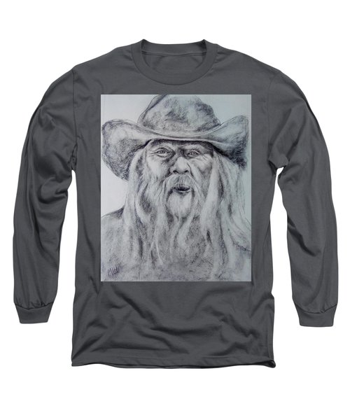 Old Man In A Hat  Long Sleeve T-Shirt