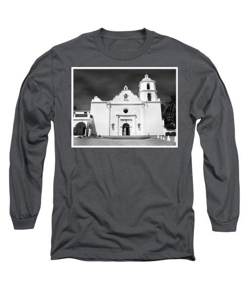 Old Mission San Luis Rey De Francia Long Sleeve T-Shirt