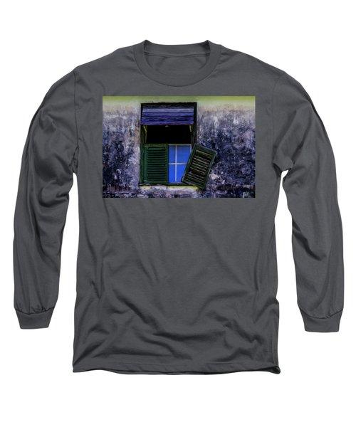 Old Window 2 Long Sleeve T-Shirt