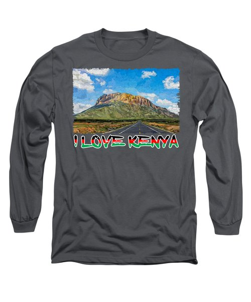 The Sacred Mountain Long Sleeve T-Shirt