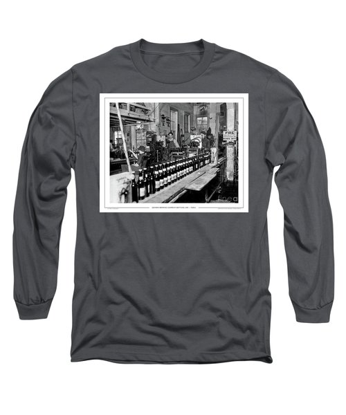Olympia Brewing Company Bottling Line, 1920ca Long Sleeve T-Shirt