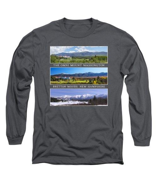 Omni Three Season Transparent Print Long Sleeve T-Shirt
