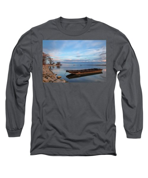 On The Shore Of The Lake Long Sleeve T-Shirt