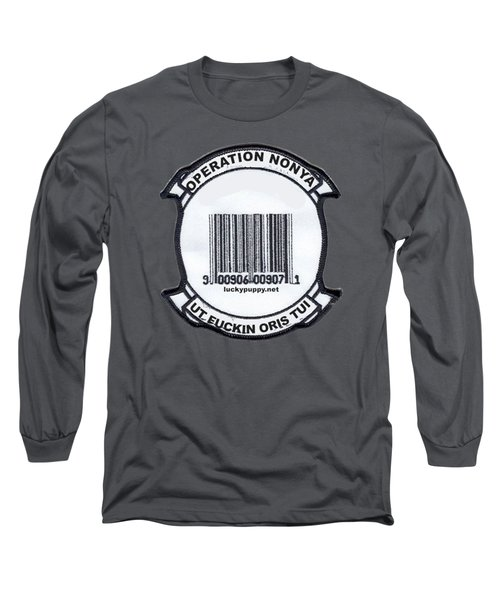 Operation Nonya Long Sleeve T-Shirt