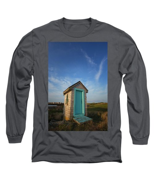 Outhouse, Matinicus Island, Knox Long Sleeve T-Shirt