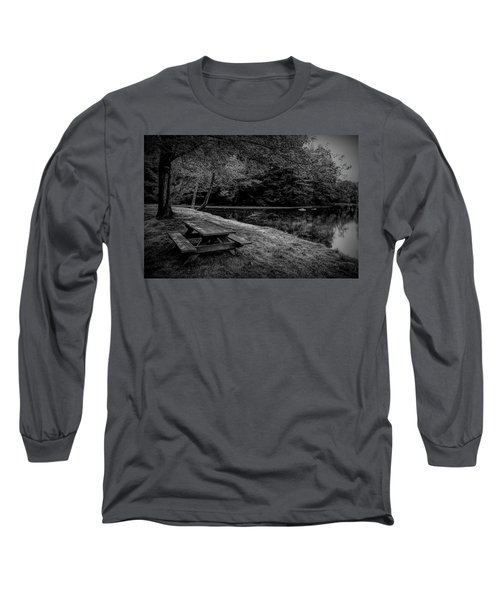 Overlooking The Sugar River Long Sleeve T-Shirt